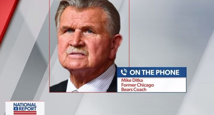 Mike Ditka again tells NFL players to 'get the hell out' of country after protests