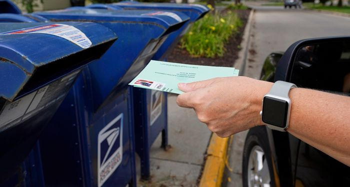 Battleground postal delays persist with mail voting underway